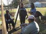 Keeping It Wild works at De Gullah/Geechee Ga'dun