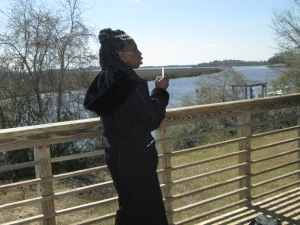 Queen Quet, Chieftess of the Gullah/Geechee Nation at Bennett's Point, SC