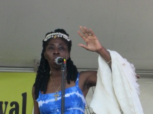 Queen Quet, Chieftess of the Gullah/Geechee Nation Sings