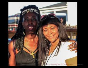 "Queen Quet, Chieftess of the Gullah/Geechee Nation and Star 99.7s ""Savannah"""