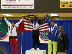 Omar Cummings of Team USA