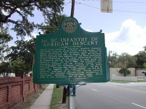 1st SC Volunteer African Regiment Marker
