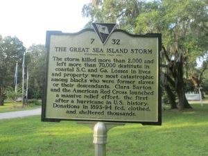 1893 Storm Marker Side 1