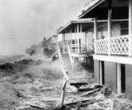 Hurricane Hazel Hits Atlantic Beach, SC