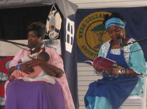 Terrie Burns & Elder Carlie Towne