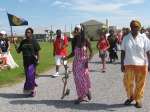 Gullah/Geechee Nation leaders gwine ta de wata at American Beach, Florida een de Gullah/Geechee Nation.