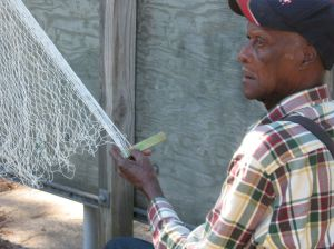 Traditional Gullah/Geechee Cast Net Making