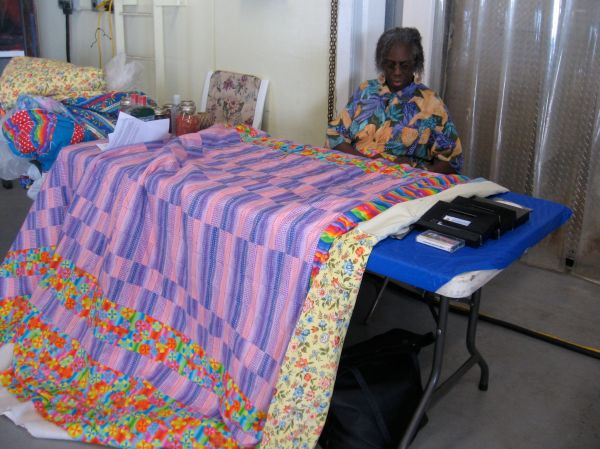 Gullah/Geechee traditional quilting