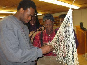 Coastal Cultures Cast Net Making