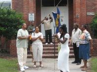 Queen Quet Leads Shout in Brunswick,, GA in the Gullah/Geechee Nation