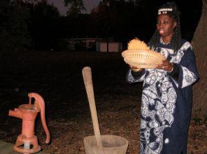 Queen Quet Fannin Rice