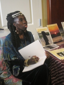 Queen Quet, Chieftess of the Gullah/Geechee Nation Booksigning