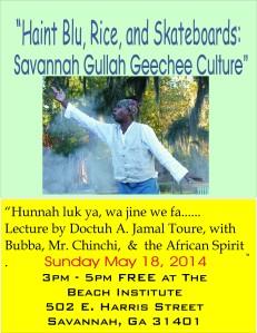 Savannah Gullah/Geechee Culture