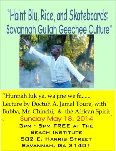 Savannah Gullah/Geechee Culture