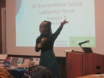Queen Quet Presents at SC Environmental Leadership Forum