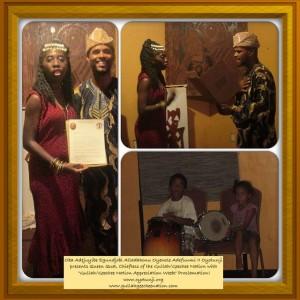 Oyotunji Village Gullah/Geechee Proclamation