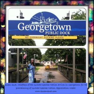 Queen Quet of Gullah/Geechee Nation in Georgetown, SC