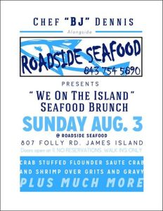 We Island Seafood Brunch