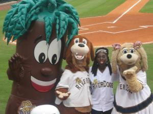 Queen Quet and the Charleston RiverDogs