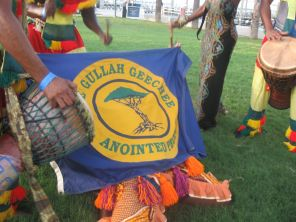 GGN Flag with Drums