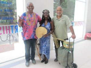 Jim Bacote, Queen Quet, Greg at Jepson
