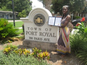Queen Quet Receives Gullah/Geechee Proclamation from Port Royal