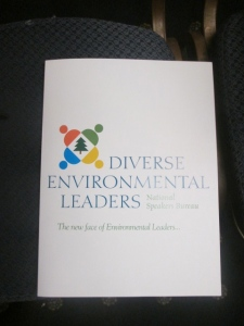 Diverse Environmental Leaders (DEL) National Speakers Bureau