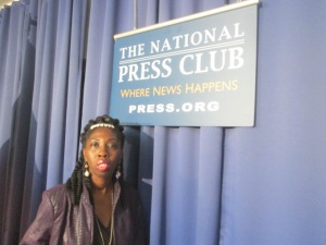 Queen Quet of Gullah/Geechee Nation at US National Press Club