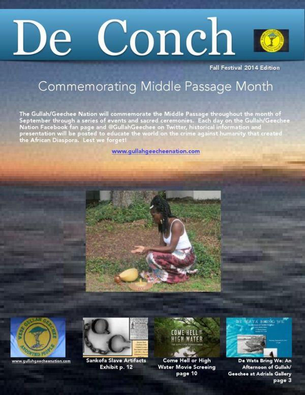 De Conch Fall 2014 Edition
