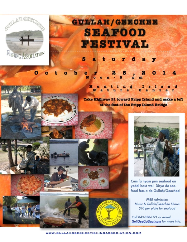 GG Seafood Festival Flyer 2014