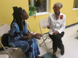 Eve Jones tells Queen Quet, Chieftess of the Gullah/Geechee Nation about the journey to having the dream of the American Beach Museum fulfilled.