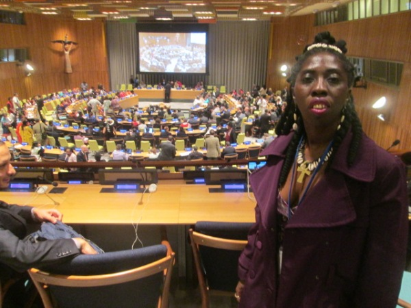 Queen Quet at UN General Assembly Hall