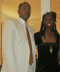 Dr. Amir Jamal Toure & Queen Quet