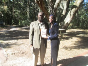 "Attorney Willie Heyward of the ""Heirs Property Law Center"" and and Queen Quet, Chieftess of the Gullah/Geechee Nation (www.QueenQuet.com) have hosted numerous land workshops together."