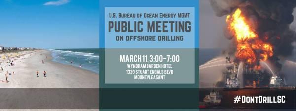 US BOEM Oil Drilling Public Meeting