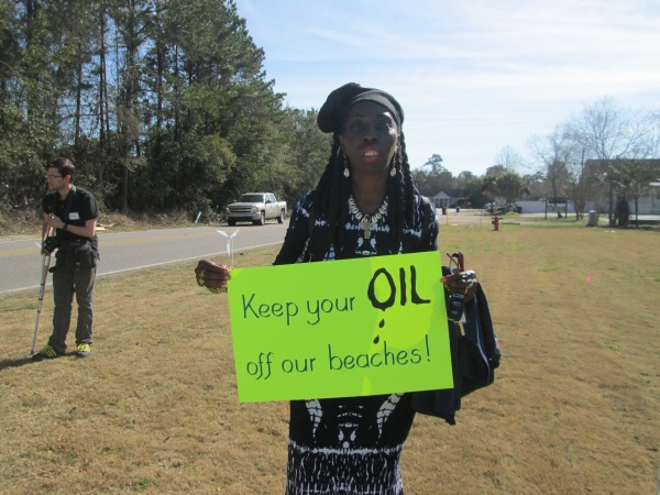 Queen Quet, Chieftess of the Gullah/Geechee Nation (www.QueenQuet.com) opposes oil drilling on the east coast especially within the Gullah/Geechee Nation!