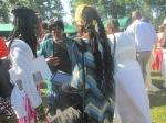 Elder Rebecca Campbell with Queen Quet & Elder Carlie Towne of the Gullah/Geechee Nation
