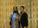 Queen Quet & Representative Glenda Simmons-Jenkins of the Gullah/Geechee Nation