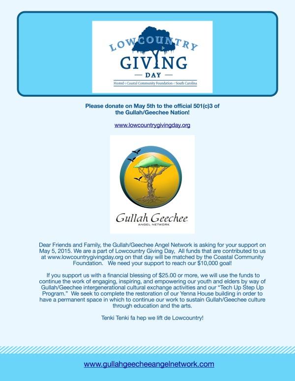 Gullah:Geechee Angel Network Fundraiser