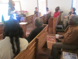 Gullah/Geechees Gathered at Lt. Mt. Olive