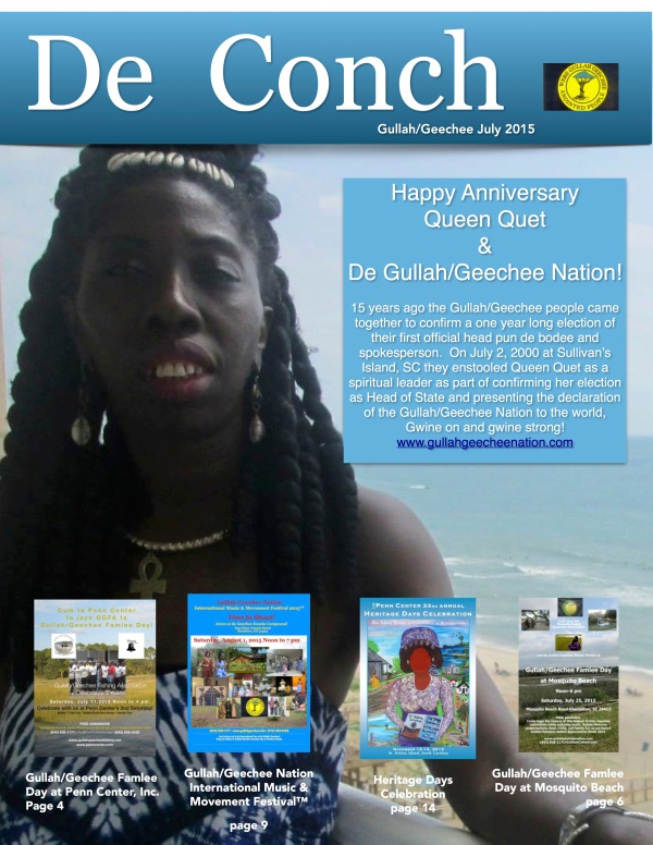 De Conch July 2015 Edition