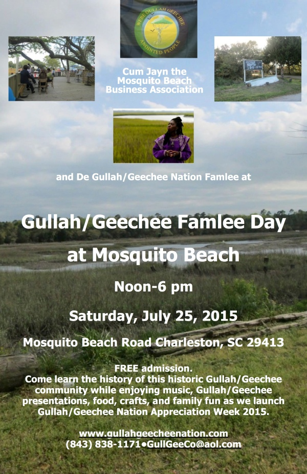 Gullah:Geechee Famlee Day at Mosquito Beach