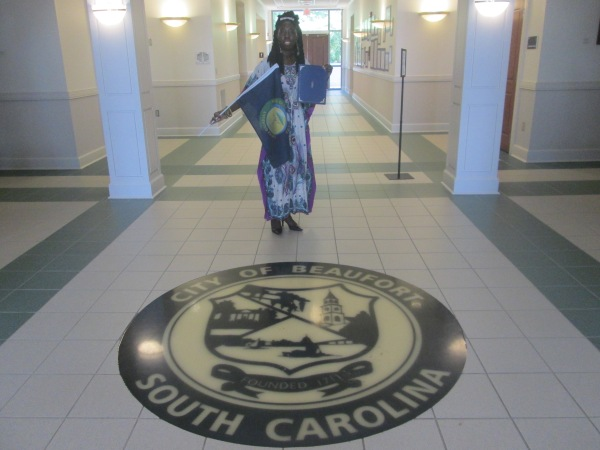 Queen Quet Receives Proclamation from Beaufort