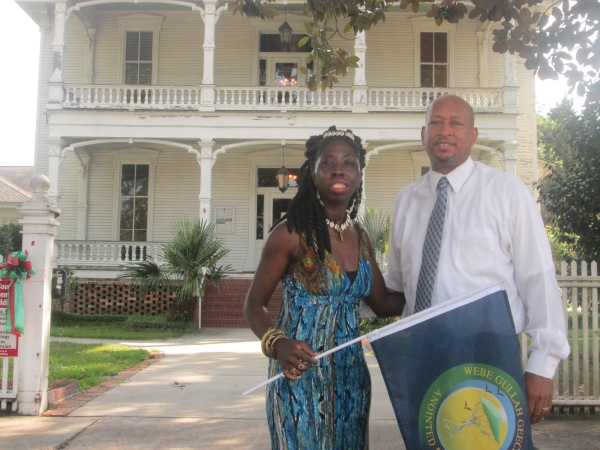 Queen Quet, Chieftess of the Gullah/Geechee Nation (www.QueenQuet.com) and  Chairman Williams of Hampton County.