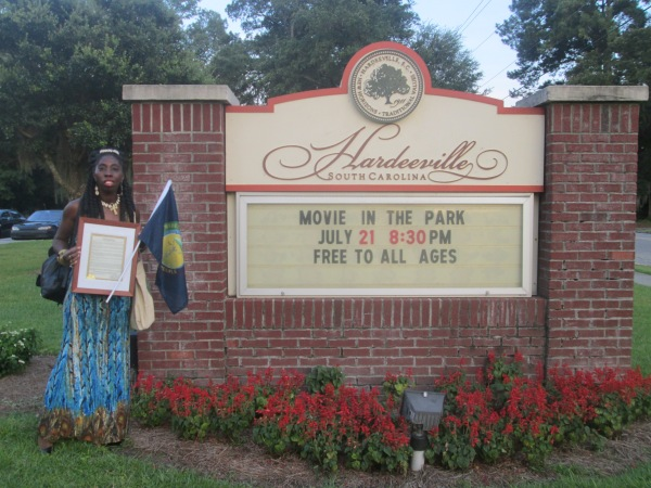 Queen Quet Receives Jasper County Gullah/Geechee Appreciation Proclamation
