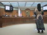 Queen Quet at Beaufort County Council