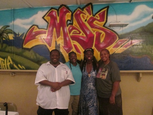 Queen Quet & Staff and Owners of MJ's Soul Food