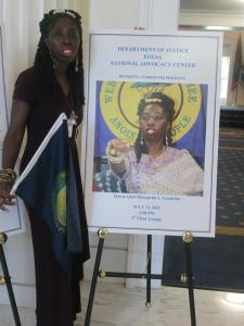 National Advocacy Center Welcomes Queen Quet