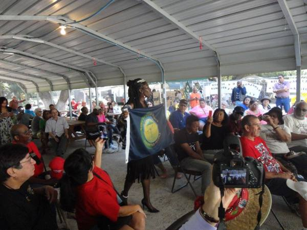 Queen Quet Keynotes at Seminole Days