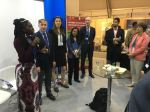 Queen Quet, Chieftess of the Gullah/Geechee Nation (www.QueenQuet.com) presenting to the global community in the UNESCO Pavilion at the United Nation's COP22 Conference in Marrakech, Morocco.